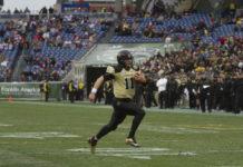 Jordan Rodgers started at quarterback for Vanderbilt in 2011 and 2012. Photo: James Tatum