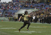 Jordan Rodgers started at quarterback for Vanderbilt in 2011 and 2012. Photo: James Tatum