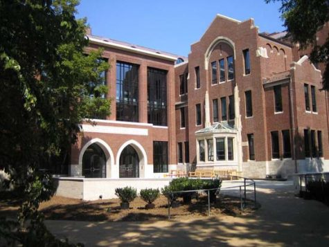 Buttrick Hall, hosts a number of A&S departments, mainly humanities,  and is where many ethnic studies classes are taught. (Hustler Multimedia)