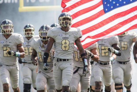 Commodore football's 2017 schedule released