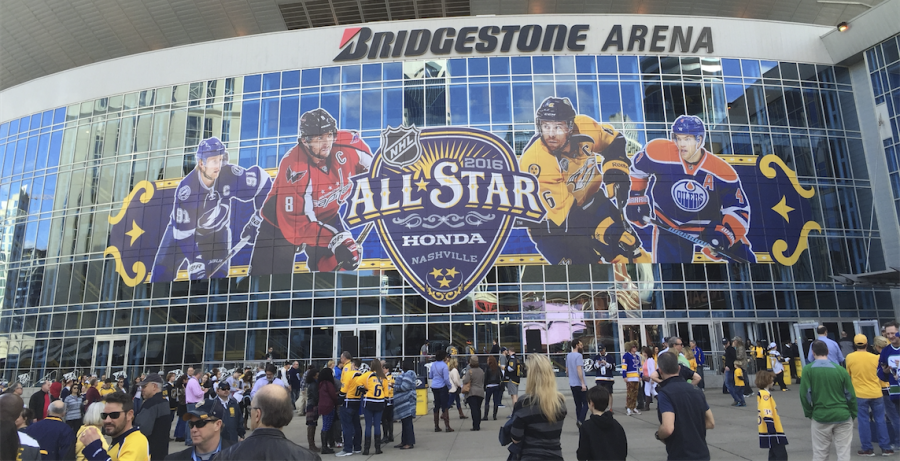 The NHL All Star Game took place in Nashville on January 31, 2016 (Cutler Klein)