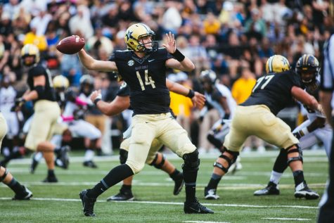 Vanderbilt's quarterback revolving door