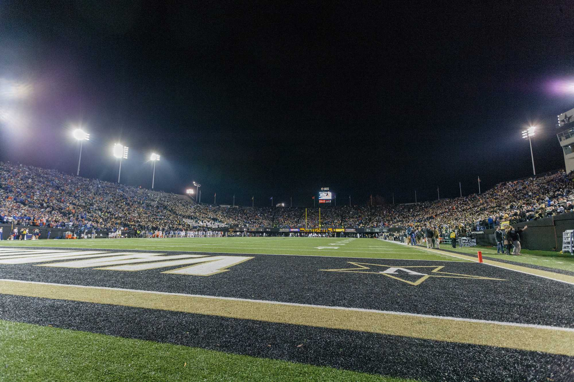 Stadium during Vanderbilt's 34-10 loss against Florida at Vanderbilt Stadium November 8, 2014.