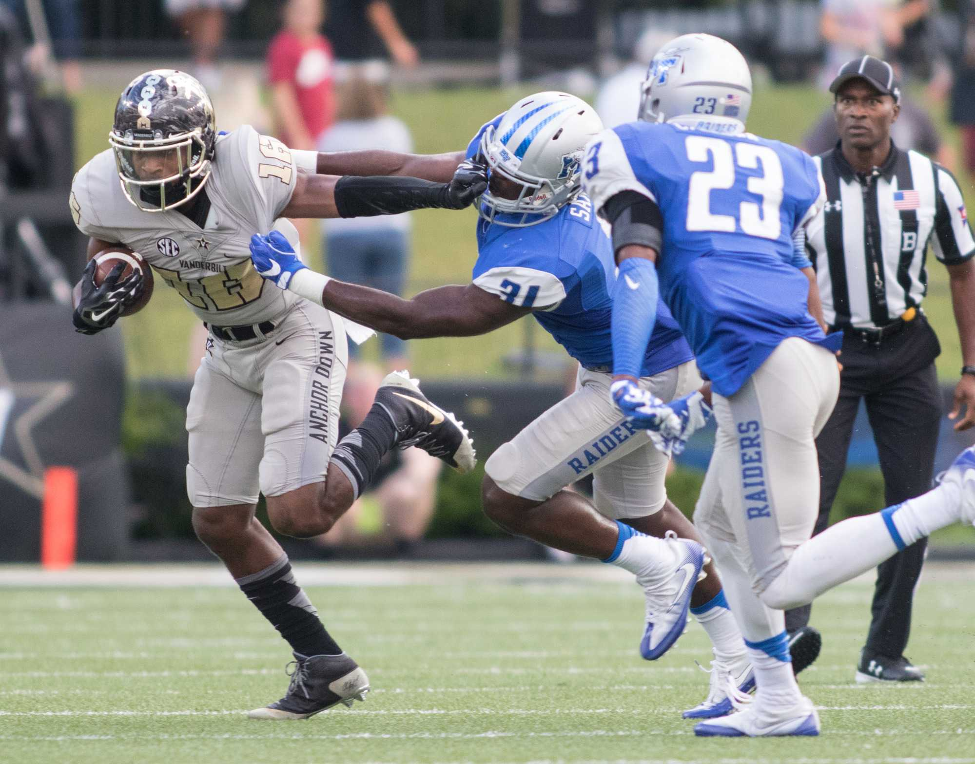 Vanderbilt defeated the MTSU Blue Raiders 47-24 at Vanderbilt Stadium September 10, 2016 (Ziyi Liu)