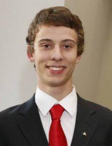 Anderson Monken, president of College Democrats (photo courtesy Anderson Monken)