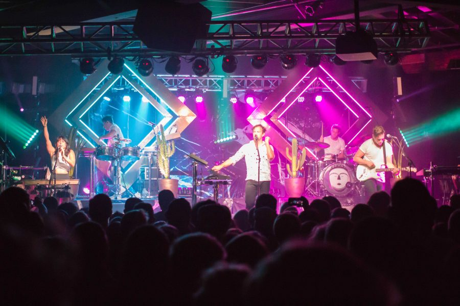 St. Lucia performs at the Cannery Ballroom, September 16, 2016.