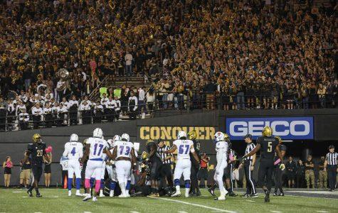 Vanderbilt Homecoming 2016: Commodore Quake and Vanderbilt football
