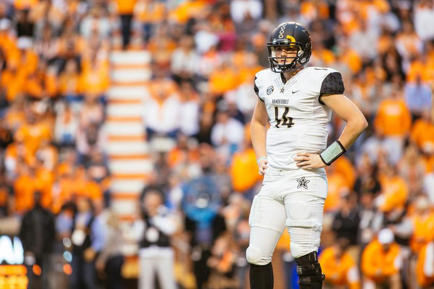 Vanderbilt vs. Tennessee November 28, 2015 at Neyland Stadium