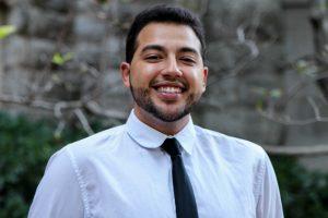 Justin Colon, senior adviser for Vanderbilt Association for Hispanic Students