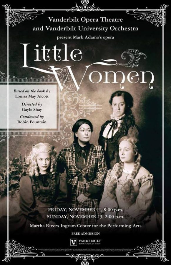 Blair presents Little Women, the opera