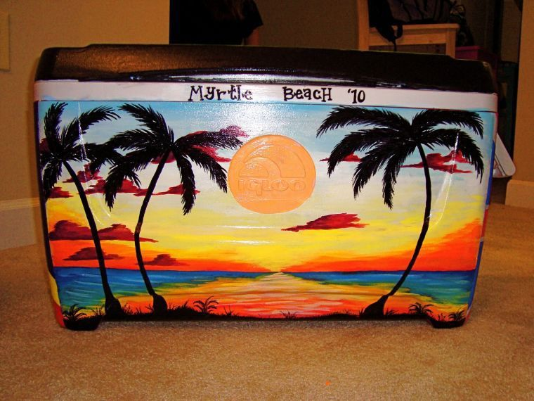 How to paint a cooler like a pro
