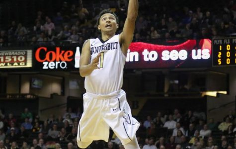 Commodores tame High Point Panthers, set school record for threes