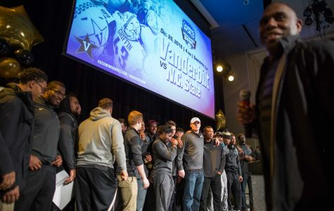 Vanderbilt to host bowl celebration at Multipurpose Facility on Sunday