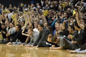 Fans as Vanderbilt lost to #6 Kentucky 87-81 at Memorial Gym January 10, 2016. (Hustler Multimedia/Ziyi Liu)