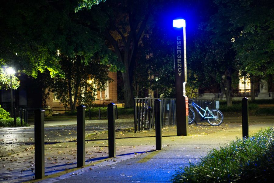 09/28/2013 The Vanderbilt Bluelights provide a security systemin which one can access police assistance within minutes by pressing an emergency beacon at the blue light stations scattered across campus.