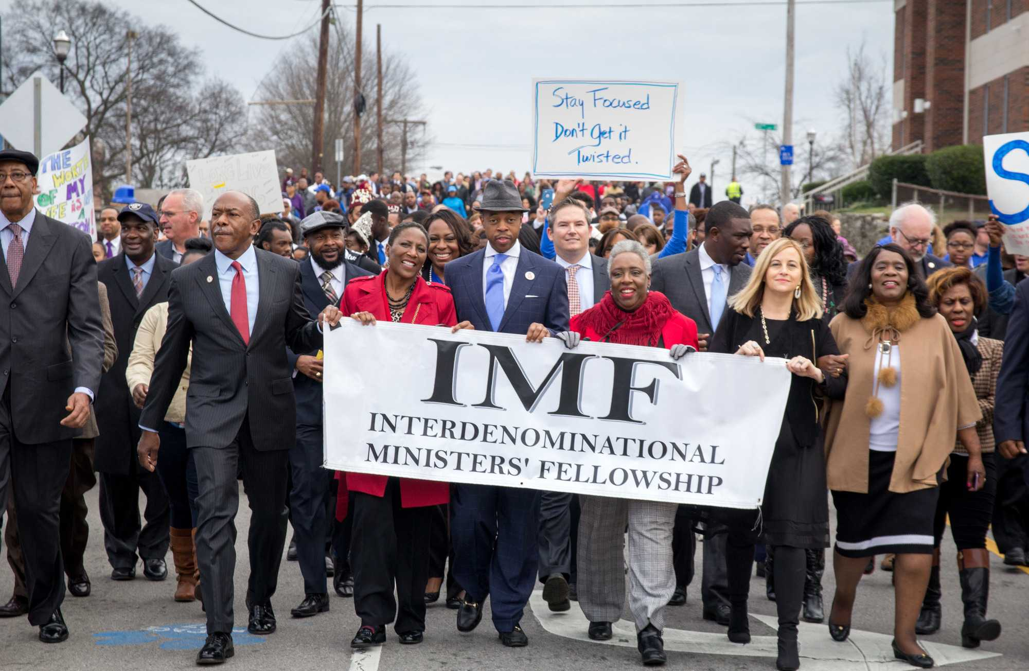 January 16th, 2017 – Nashville citizens, local leaders, and Mayor Megan Barry gather to celebrate the life of Rev. Dr. Martin Luther King Jr. at the annual MLK Day March.