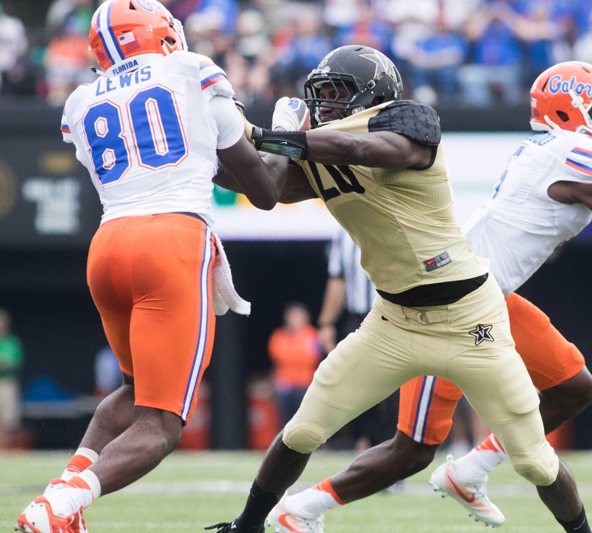 Vanderbilt Lost to University of Florida Gators 13-6 October 1, 2016