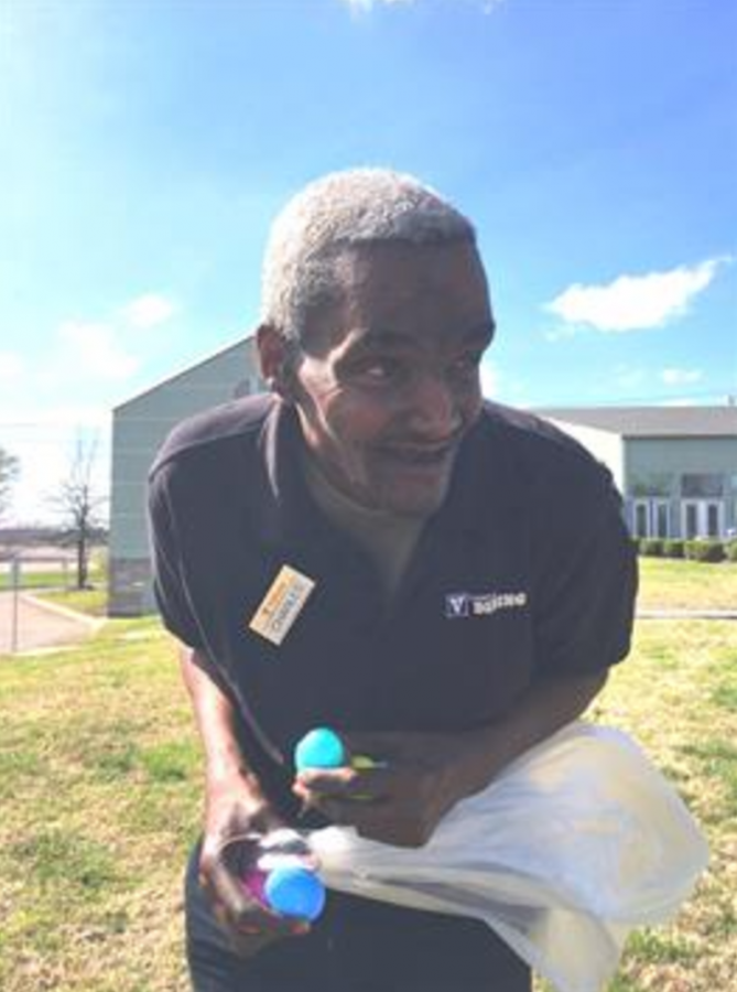 Mourning the death of dining worker Charles Poleate