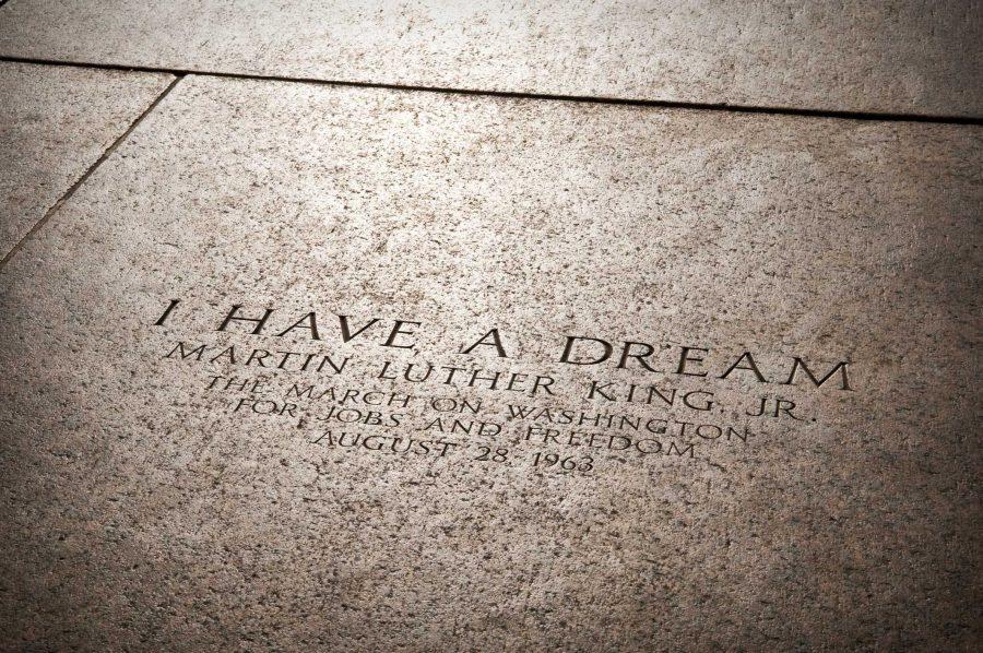 MLK Jr's I Have a Dream speech location