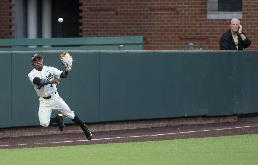 Flames burn Commodores late, take weekend series