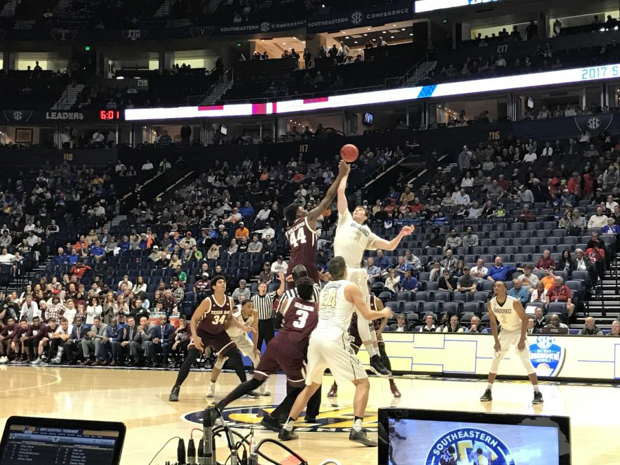 Commodores advance in SEC tournament with crucial win over Texas A&M