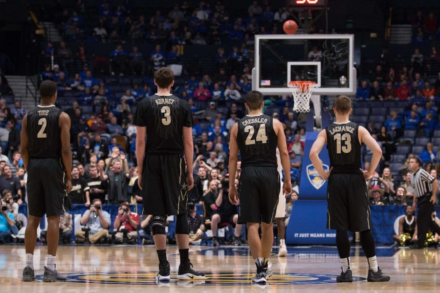 Vanderbilt fell 76-62 to Arkansas in the SEC tournament semifinals Saturday, March 11, 2017 at Bridgestone Arena in Nashville.