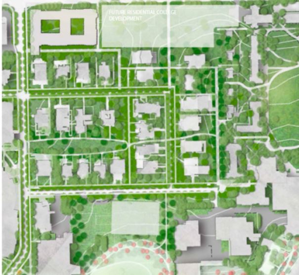 Campus+land+use+plan+to+eliminate+parking%2C+introduce+greenways
