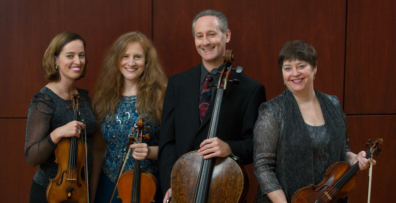 Blair School of Music hosts the Serafin String Quartet