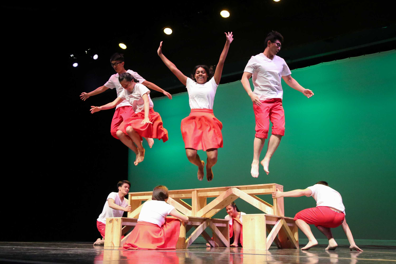 Vanderbilt performing arts groups show off their talents at Spotlight on Friday, August 25, 2017.