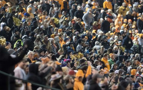 Fans as Vanderbilt beat #17 Tennessee 45-34 at Vanderbilt Stadium November 26, 2016. Photo by Ziyi Liu