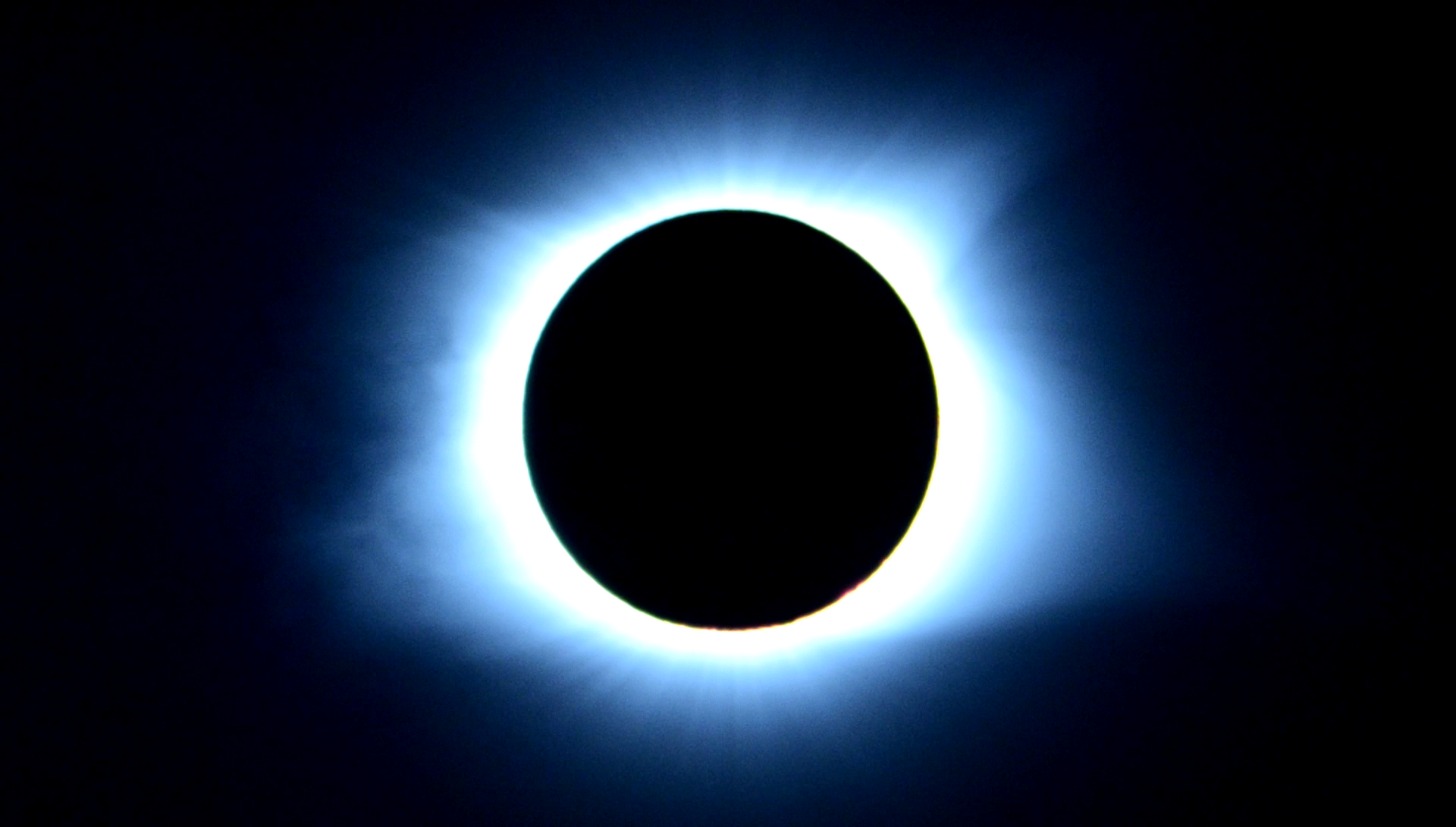 A total solar eclipse takes place over Nashville, TN on August 21, 2017.