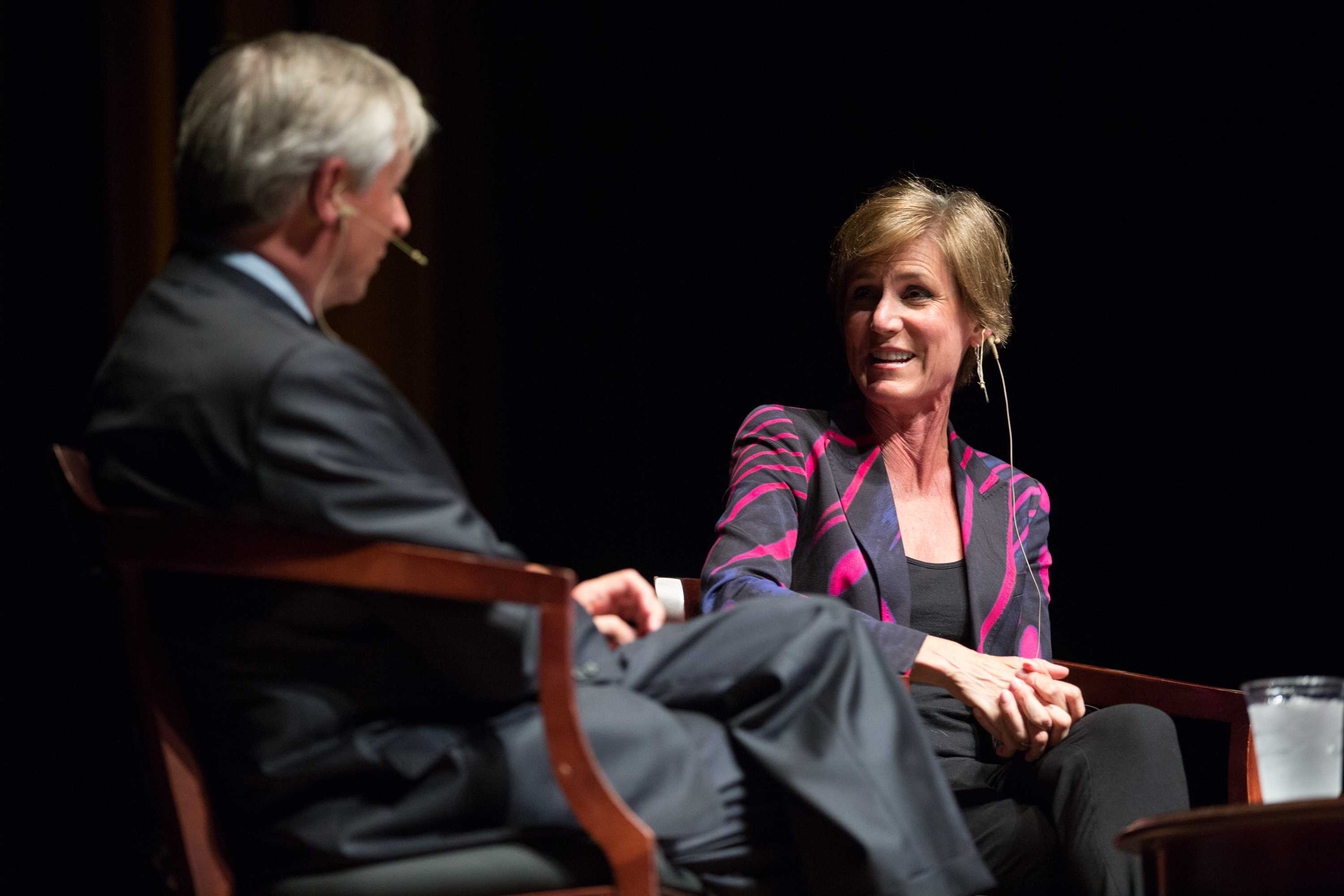 Q&A with Sally Yates, former United States Deputy Attorney General
