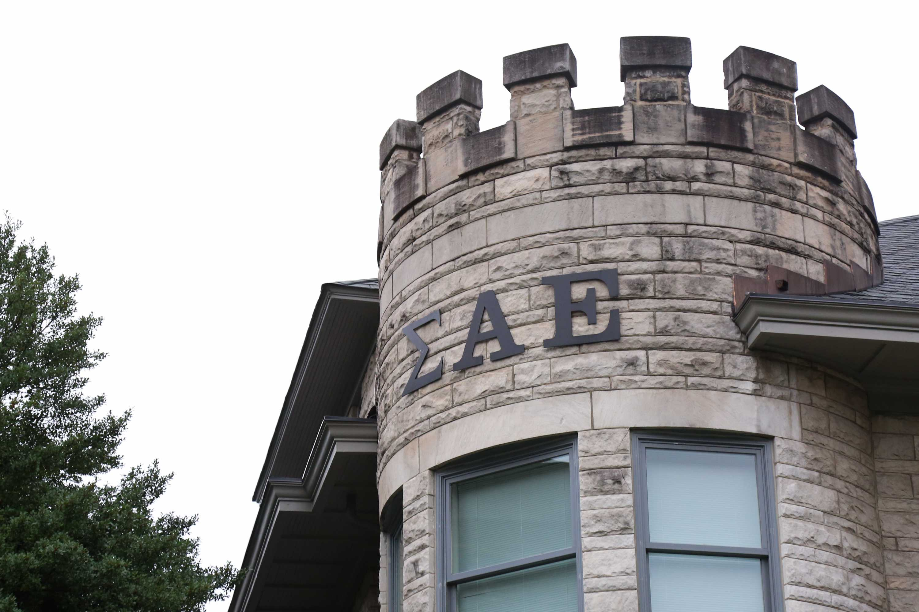 The Vanderbilt SAE chapter house stands at the corner of 25th Ave. and Kensington Pl.