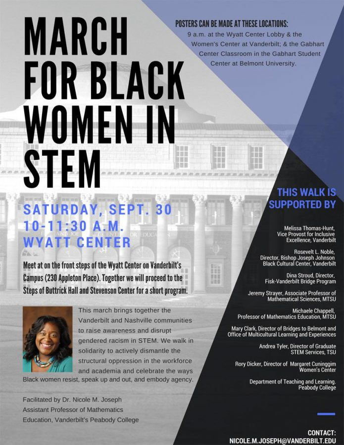 March for black women in STEM to take place Saturday, Sept. 30
