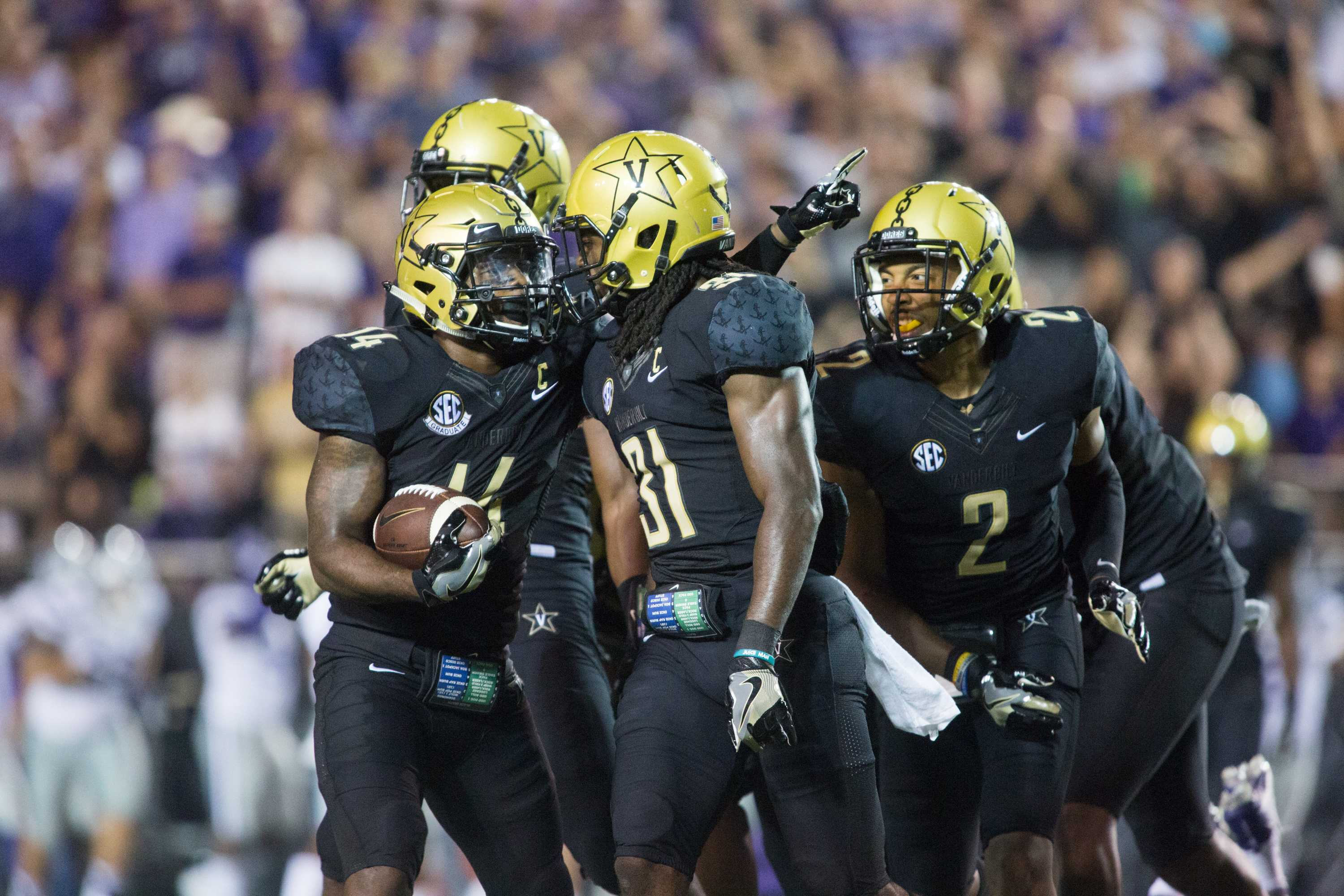 Vanderbilt takes on Kansas State on Saturday, September 16, 2017. Photo by Claire Barnett//The Vanderbilt Hustler.