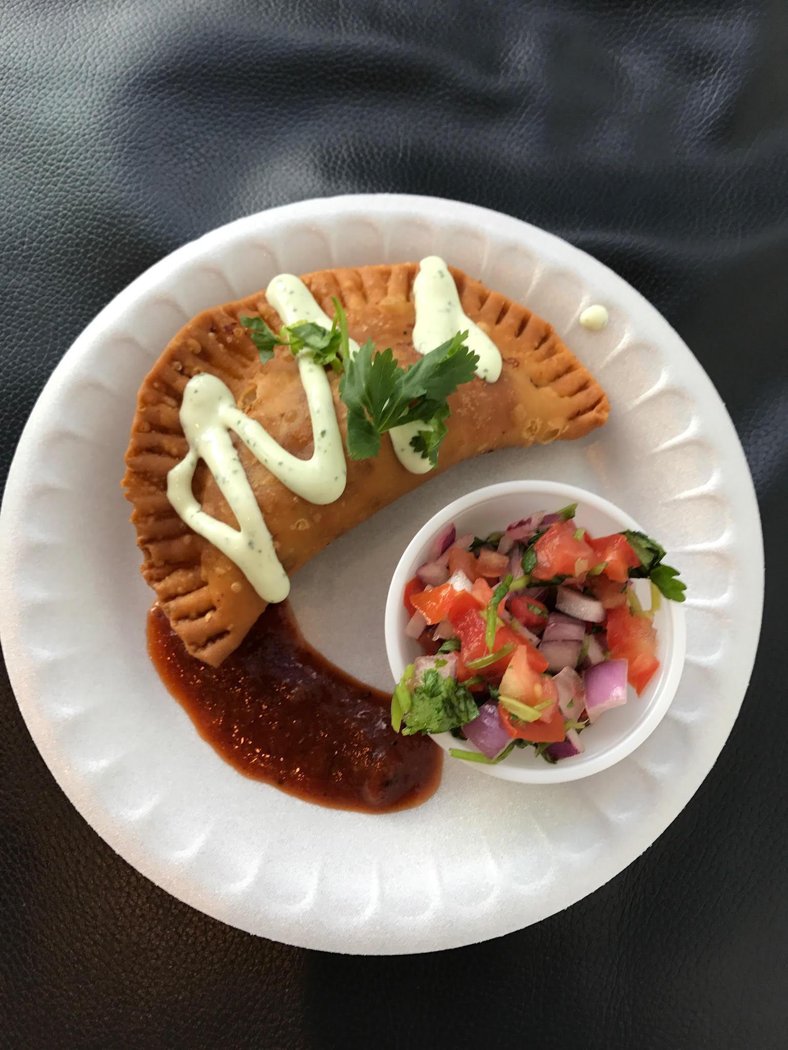 Vanderbilt's Hilton Garden Inn's empanada