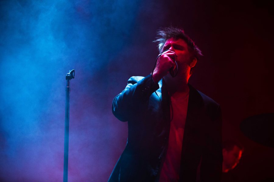 James+Murphey+of+LCD+Soundsystem+plays+in+Nashville+on+Friday%2C+October+20%2C+2017
