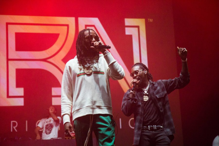 Migos+performs+at+Vanderbilt+on+Thursday%2C+October+5%2C+2017.