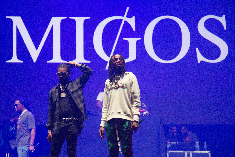 Migos performs at Vanderbilt on Thursday, October 5, 2017.