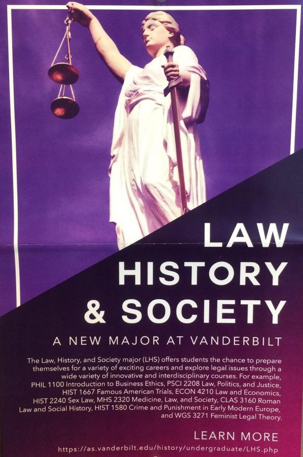 History department introduces new Law, History, and Society major