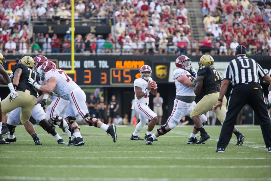 The+Commodores+play+Alabama+on+Saturday%2C+September+23%2C+2017.++Vanderbilt+lost+59-0.+Photo+by+Claire+Barnett.+