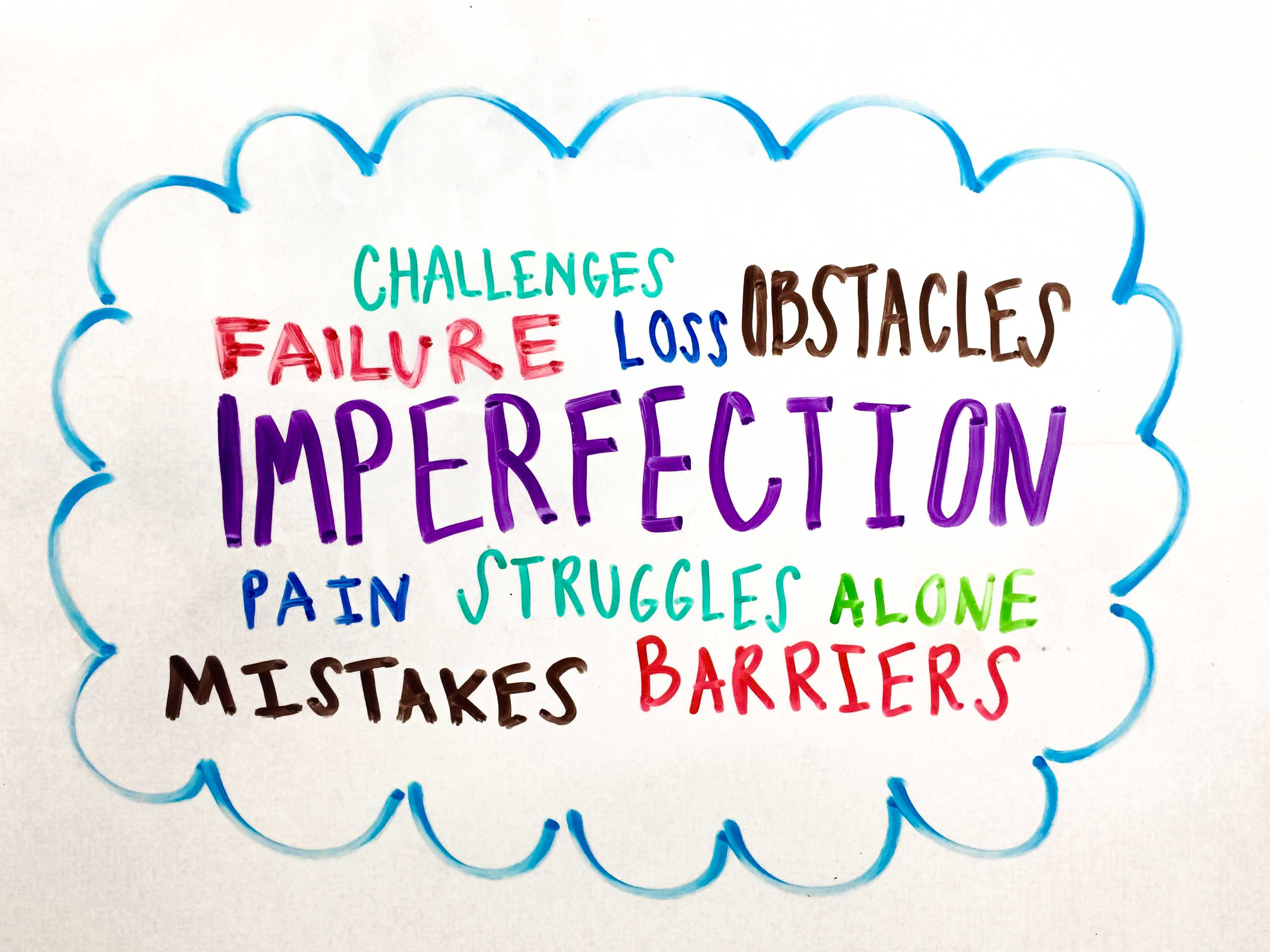 When we fail: student leaders talk about their imperfections