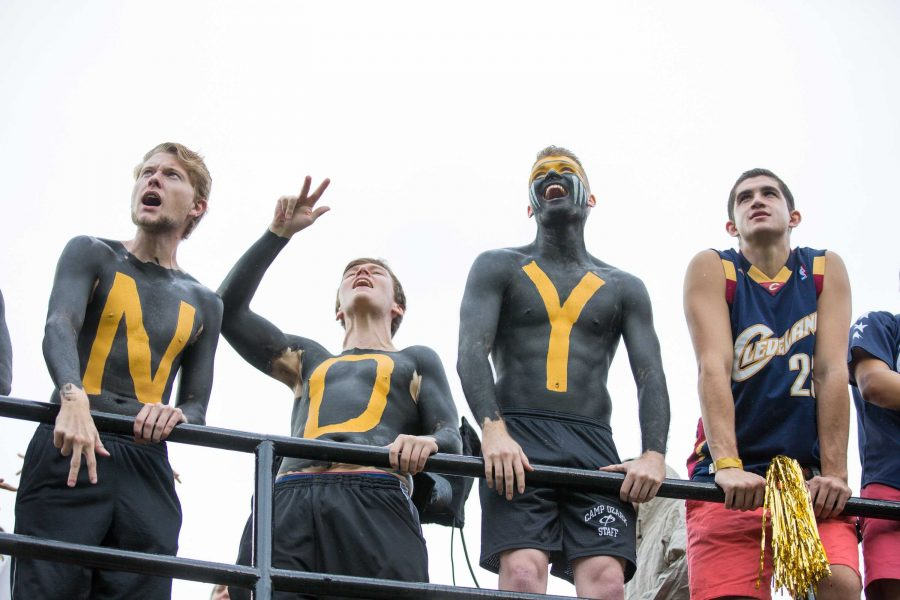 The Commodores play Georgia on Saturday, October 7, 2017. Photo by Claire Barnett//The Vanderbilt Hustler.
