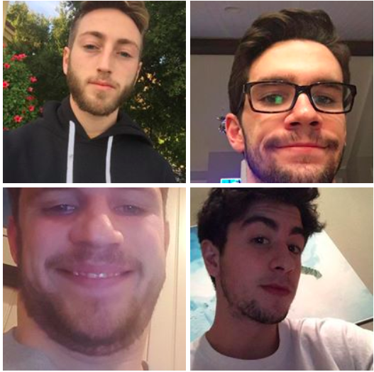 No Shave November participants explain the significance behind the beards
