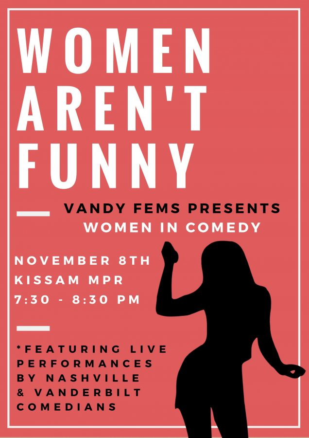 Vanderbilt Calendar.Vandy Fems Presents Women In Comedy The Vanderbilt Hustler