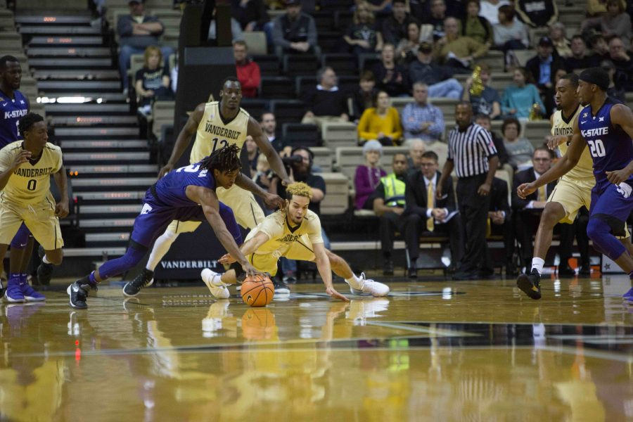 Vanderbilt+Men%27s+Basketball+team+plays+Kansas+State+on+Sunday%2C+December+03%2C+2017.+%28Photo+by+Hunter+Long%29
