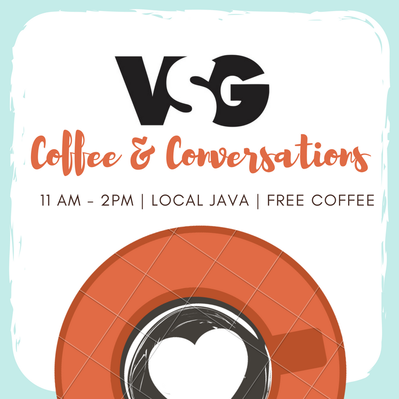 VSG to host coffee chat at Local Java on Jan. 31