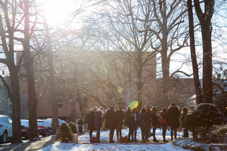 Vanderbilt women participate in Formal Sorority Recruitment on Saturday, January 13, 2018. (Photo by Claire Barnett)