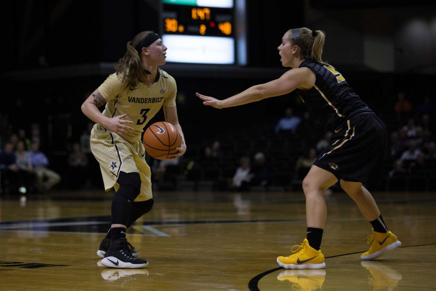 The+Vanderbilt+Womens+Basketball+Team+plays+Missouri+in+Memorial+Gym+on+Thursday%2C+January+11%2C+2018.+%28Photo+by+Claire+Barnett%29