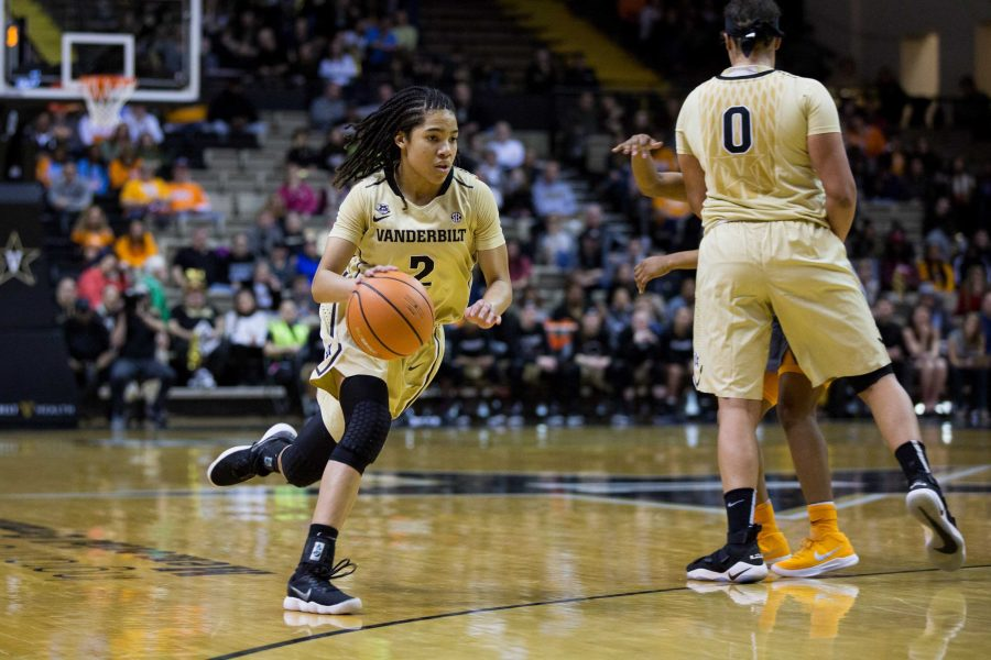 The Vanderbilt Women's Basketball team play the Lady Vols on Sunday, February 4, 2018 in Memorial Gym.